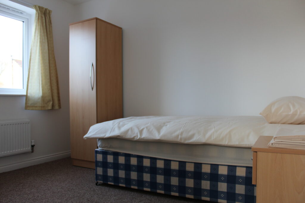 Syrian Vulnerable Persons Resettlement Scheme bedroom
